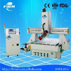CNC cutter machine, 4 axis CNC router FM1325-4 for wood door furniture
