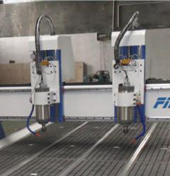 FM1325 two spindle cnc router for wood working