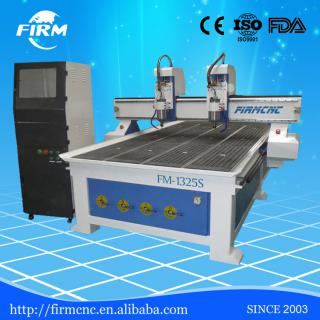 Double-spindle Wood CNC router&engraver 1325