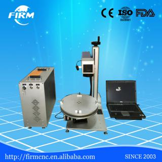 Hot sale! high precision fiber laser marking machine laser engraver with MOPA