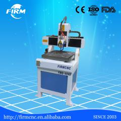 Hobby mini table moving metal and nonmtal engraving cnc router