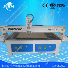 Heavy duty frame furniture making wood cnc router 2030