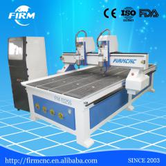 double spindle DSP control 1325 cnc router for furniture making