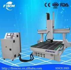 China professional FM1325-4axis AC 220V/380V woodworking machine cnc router 4 ax