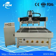 4 Spindles Multihead mini FM6090 cnc router for carving/engraving wood