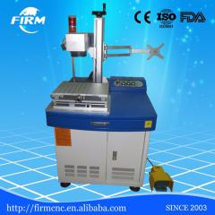 Jinan Firm 20w laser marking machine 3030 for stainless steel