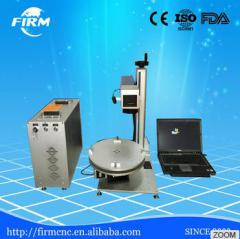 New Promotion laser marking& printing machine for mobile Phone Cover MOPA laser