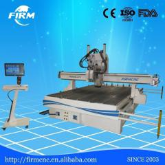Oscillating tangential cutting module with industrial camera for wood A3 paper c