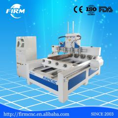 FIRM 2000*1600mm rotary cnc wood engraving machine 2016 with four spindle