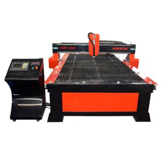 New design metal plasma cutting machine with drilling head